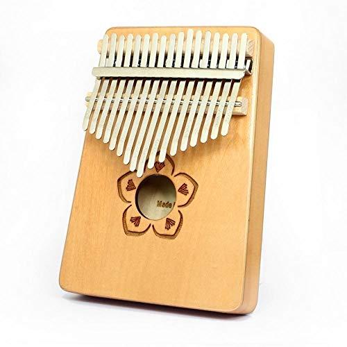 SYXMSM Kalimba Daumenklavier 17 Mahagoni Schlüssel Klavier Geschenk for Klavier Anfänger Professioneller (Color : E)