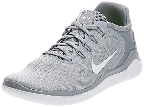 Nike Women's Free Rn 2018 Competition Running Shoes, Multicolour (Wolf Grey White/Volt 003),3 UK(36 EU)