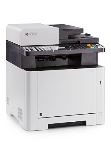 Kyocera Klimaschutz-System Ecosys M5521cdw Farblaser Multifunktionsdrucker: Drucker, Kopierer, Scanner, Faxgerät. Inkl. Mobile-Print-Funktion. Amazon Dash Replenishment-Kompatibel