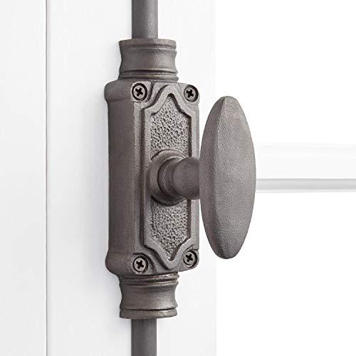 Signature Hardware 436262 Stepney Iron Cremone Bolt for 9' Doors