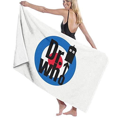 U/K The Dr. Who - Toalla de baño de secado rápido