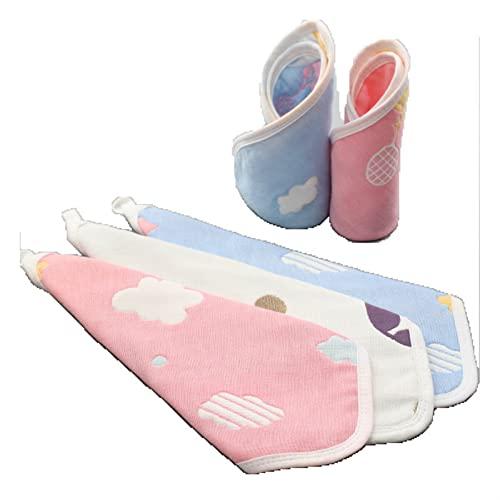 YYKDZ Gauze Scarf Take Cotton Baby Handkerchief Children' s face Square Towel Newborn Baby 6- Layer Cotton Yarn Cloth Scarf (Color : L, Size : AC)