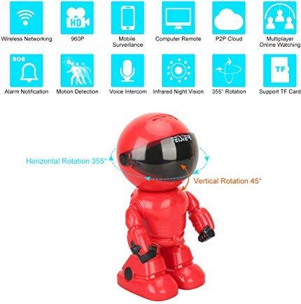 FEISIER 960P HD wireless Robot IP Security Camera