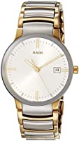 Rado Unisex Centrix Stainless Steel Swiss Quartz Watch