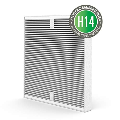 Stadler Form Dual filter H14, compatible with Roger Little air purifier, long service life up to 1 year, easy filter change, combined HEPA and activated carbon filter