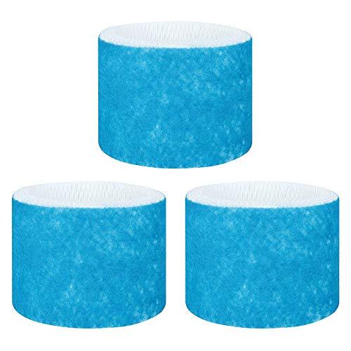 Lhedon 3PCS Phillips Luftbefeuchter Filter Verbesserte Filter Blauem Netz,Doppelt Filter Ersatz Befeuchtungs Kompatibel Mit Philips HU4801,HU4802,HU4803,HU4813,HU4811 Luftbefeuchtungsfilter