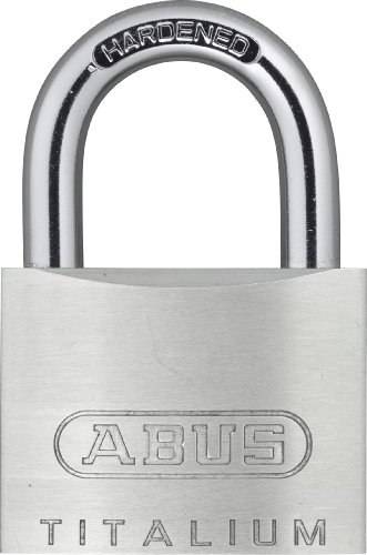 ABUS 54 TI/40 Vorhängeschloss 58597 Titanium, 40 mm