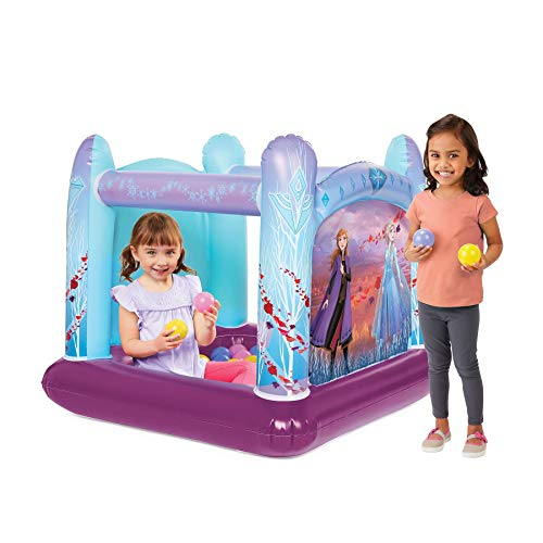 Best Prices! Frozen 2 Ball Pit Playland, 1 Inflatable & 20 Soft-Flex Balls