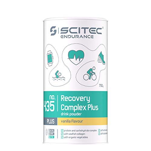 Scitec Endurance Recovery Complex Plus drink powder vainilla - 750 g
