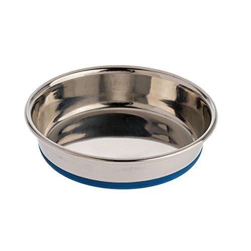 Our Pets - Gamelle Eau Nourriture Durapet INOX pour Chat antidérapant 226 ML