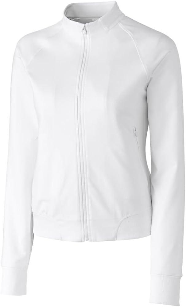Cutter & Buck Women's Moisture Wicking, UPF 50+, Long-Sleeve Brook Bomber Jacket