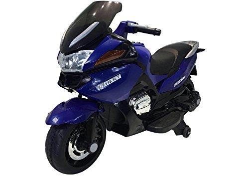 TOYSCAR electronic way to drive Moto Elettrica Sport per Bambini con Musiche Luci e accelleratore 12v