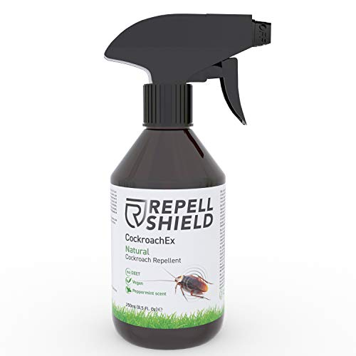 RepellShield Spray Anti Blatte e Scarafaggi - Repellente Naturale Anti Scarafaggi e Blatte per...