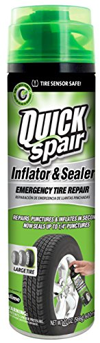 Slime 60190 Quick Spair Tire Inflator with Eco-Friendly Formula - 20 oz.