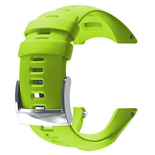 Suunto Ambit3 Run Lime Strap Correa Reloj, Unisex Adulto, Verde, Talla Única