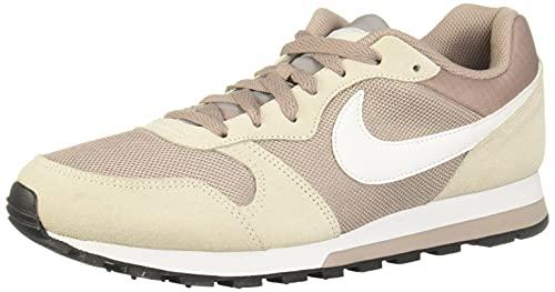 Nike MD Runner 2, Zapatillas de Running Mujer, Multicolor (Pumice/White/Phantom/Black 201), 38 1/2 EU