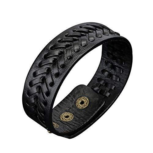 vwlvrsco Bracelet Bangle Jewelry Gift,Bracelet for Men,Bracelet Holder,Bracelet String Beads,Bracelet Chain Pack Black