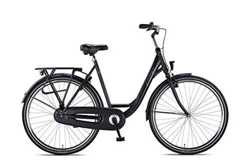 Hoopfietsen 28 Zoll Cityrad Damen Altec Trend Single Speed Schwarz B-Ware Schwarz 56 cm Rahmengröße