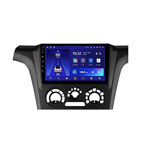2 DIN Car Stereo 9 Pulgadas HD Pantalla Táctil Soporte Llamadas Manos Libres/Navegación GPS/Cámara De Visión Trasera/1080P Video, para Mitsubishi Outlander Radio De Coche,Octa Core,4G WiFi 2+32