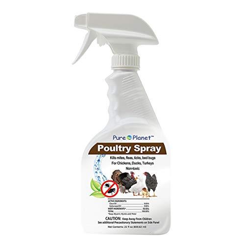 Davis Pure Planet Poultry Spray, 22 oz, Model Number: 011-41000