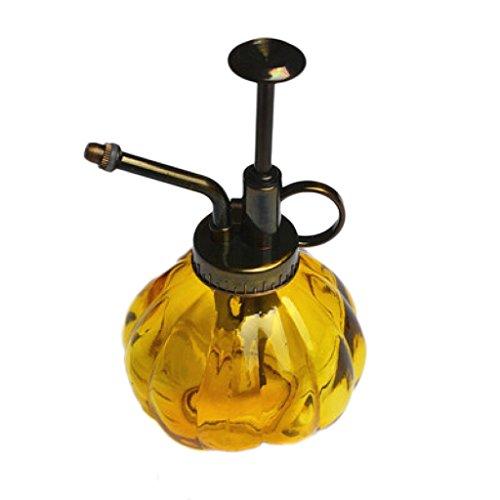 DUOER home Pulvérisateur Style rétro, arrosoir de Type Citrouille Petit (Vert 200ml) (Color : Yellow, Taille : 8 * 16cm)