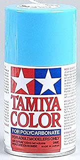 Tamiya America, Inc Polycarbonate PS-3 Light Blue, Spray 100 ml, TAM86003