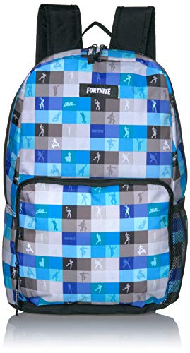 FORTNITE Kids' Little Amplify Backpack, Blue/black, Youth Size