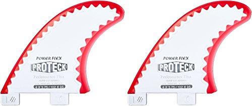 PROTECK Powflex Lateral FCS Derivas de Surf 2, 4'