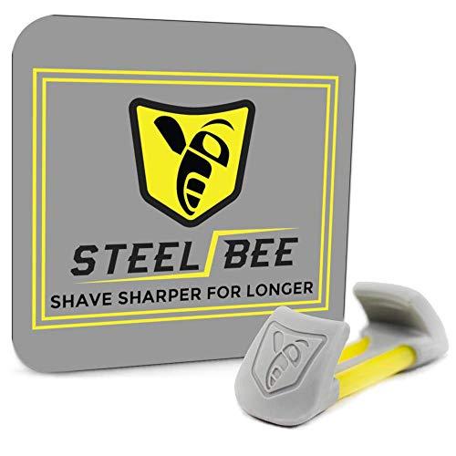 SteelBee Razor Saver | Anti-Rust Razor Cover | Blade Life-Extender | Travel Cartridge Protector |...