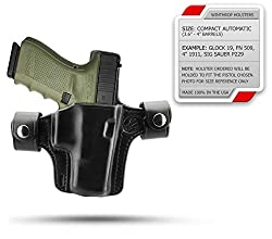FNP 9mm 4 inch barrel Outside the Waistband Shield Dual Snaps Holster