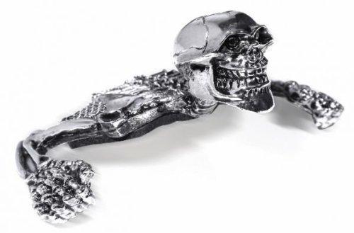 Totenkopf Skull Skelett für Scheinwerfer 4-5-3/4 Harley Suzuki usw.