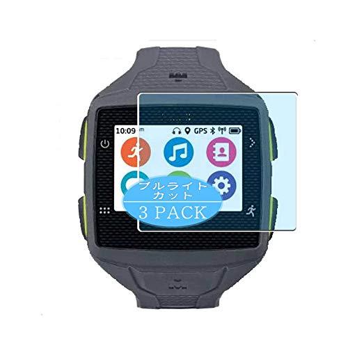 VacFun 3 Piezas Filtro Luz Azul Protector de Pantalla, compatible con Timex Ironman One GPS+ plus smartwatch Smart Watch, Screen Protector Película Protectora(Not Cristal Templado) NEW Version