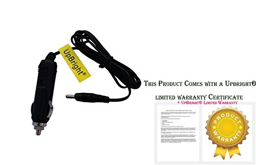 UPBRIGHT New Car DC Adapter for AUDIOVOX D1812 D1788 D1730 D1830 D1915 D1708 D1888 D1917 D1718 D1917 D1888 D1988 DT102 DT102A Portable DVD Player 9V - 12V Auto Lighter Plug Power Supply Charger