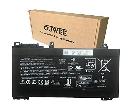 OUWEE RF03XL Battery Replacement for HP L84354-005 L83685-AC1 HSTNN-OB1Q HSTNN-DB9R Series Notebook 11.4V 45Wh 3790mAh