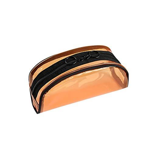 Outflower 1 pcs transparent portable cosmétique sac voyage lavage sac de rangement sac portable voyage lavage sac 21 * 8 * 11 cm
