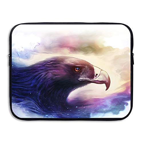 Laptop Sleeve Bag Art Drawing Bird Eagle 15 Inch BriefSleeve Bags Cover Notebook Waterproof Portable Messenger Bags