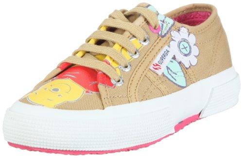 Superga Unisex-Kinder 2750 Disney Winniethepooh Sneaker, Braun/939 Winnie Pooh Camel, 34 EU