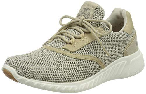 MUSTANG Unisex Kinder 5054-301-4 Sneaker, Beige (Beige 4), 38 EU