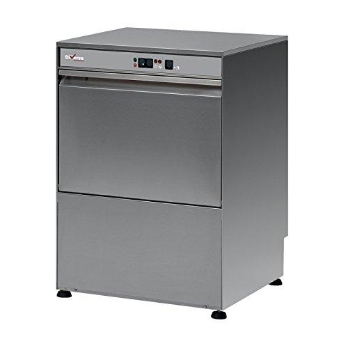 Lave-vaisselle frontal professionnel panier 500x500 mm - Avec pompe de vidange