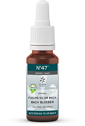 Lemon Pharma Flores de Bach N° 1 Aigremoine - Frasco ámbar con pipeta cuentagota ecológica, 20 ml