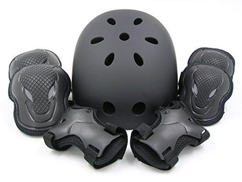 (エムズダイス)M's Dice ヘルメット & プロテクター 3点 セット ( 手首/ひじ/ひざ パッド ) 3カラー S...