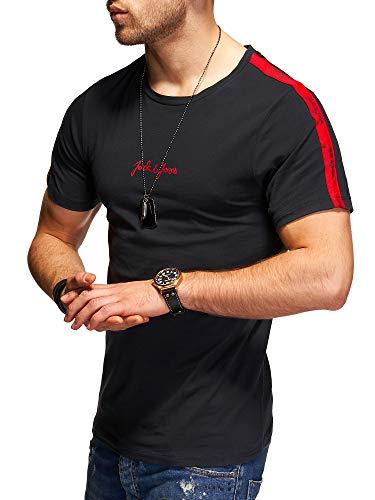 JACK & JONES Herren T-Shirt O-Neck Print Shirt (L, Tap Shoe)