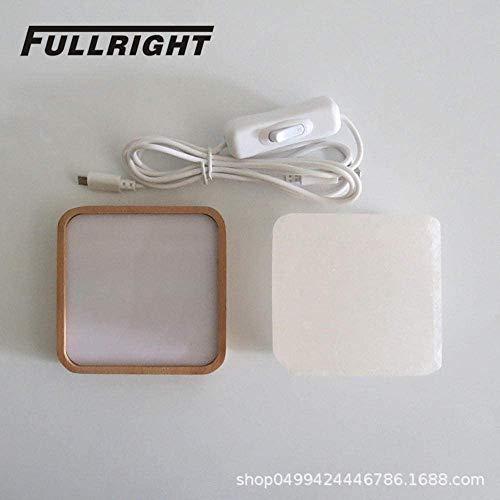 Lampe à sel base de lumière de nuit créative lumière lumière de nuit cadeau cadeau de nouveauté