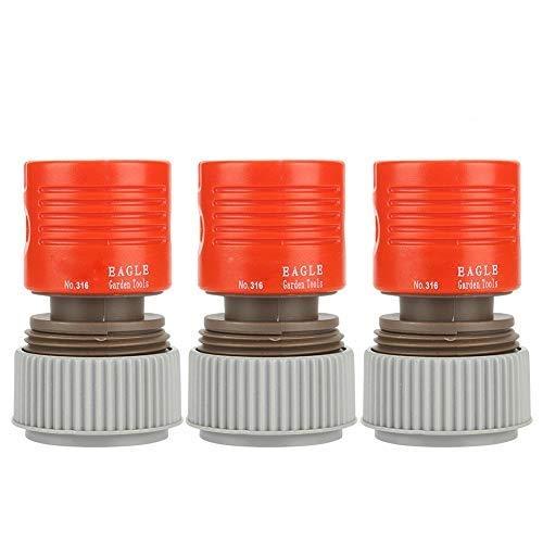 Fdit 3 uds Conector de tubería de riego de jardín de Resorte...