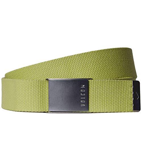 Volcom Case Web Belt Shadow Lime O/S