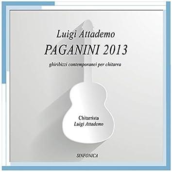 Paganini 2013 - Ghiribizzi contemporanei per chitarra