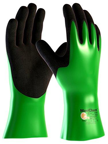 DBI Trading 2384L2 MaxiChem 56-630 Lot de 2 gants de protection chimique Taille 9 L