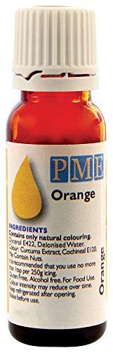 PME 100% natürliche Lebensmittelfarbe - Orange, 25 g