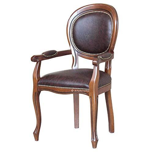 Arteferretto Chaise Bout de Table Louis Philippe