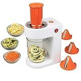 MasterChef Electric Spiralizer- 3-in-1 Vegetable Noodle...